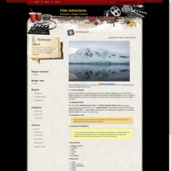 Film Adventure Blogger Template