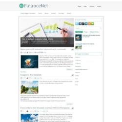 FinanceNet Blogger Template