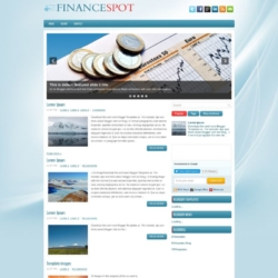 FinanceSpot Blogger Template