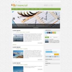 Financial Blogger Template