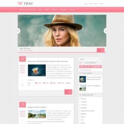 Frau Blogger Template
