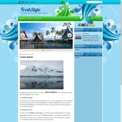 FreshStyle Blogger Template