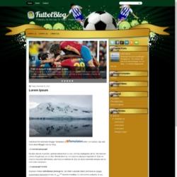 FutbolBlog Blogger Template