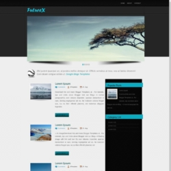 Future X Blogger Template