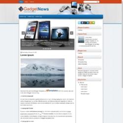 GadgetNews Blogger Template