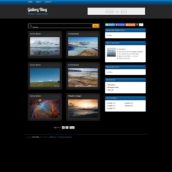 Gallery Blog Blogger Template