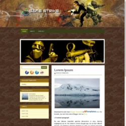 Game Strike Blogger Template