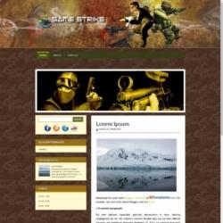 Game Strike Blogger Template