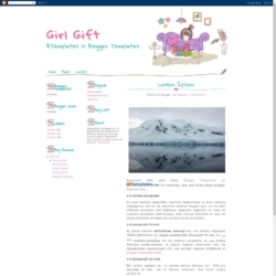 Girl Gift Blogger Template