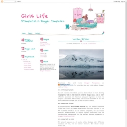 Girls Life Blogger Template