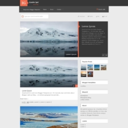 GoodInc Spot Blogger Template