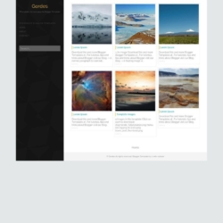 Gordes Blogger Template