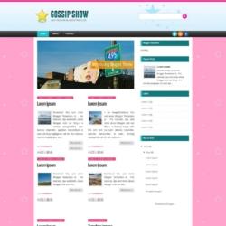 Gossip Show Blogger Template