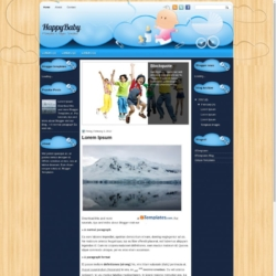 HappyBaby Blogger Template