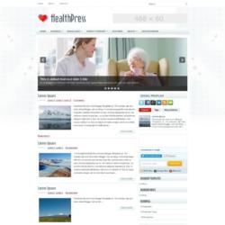 HealthPress Blogger Template