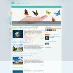 HealthZone Blogger Template