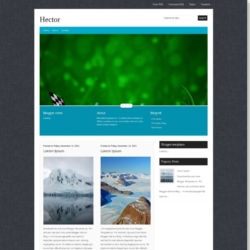Hector Blogger Template