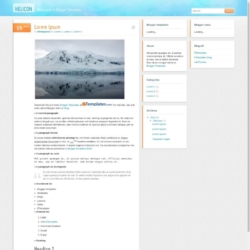 Helicon Blogger Template