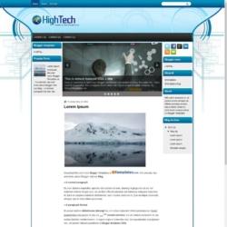 HignTech Blogger Template