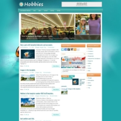 Hobbies Blogger Template