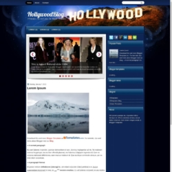 HollywoodBlog Blogger Template