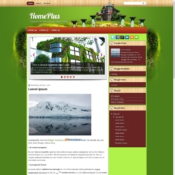 HomePlus Blogger Template
