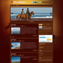 HorseRiding Blogger Template