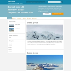 iBantonk Blogger Template