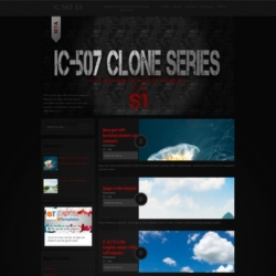 IC-507 S3 Blogger Template