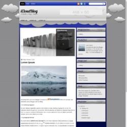 iCloudBlog Blogger Template
