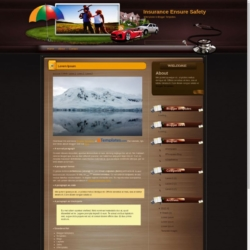 Insurance Ensure Safety Blogger Template