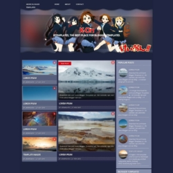 K-On!! Blogger Template