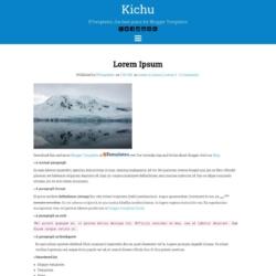 Kichu Blogger Template
