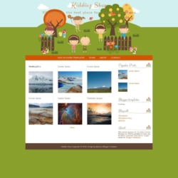 Kiddiez Shop Blogger Template