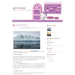 Kitty Store Blogger Template