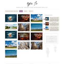 Kylie Jo Blogger Template