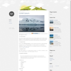 Legit Blogger Template