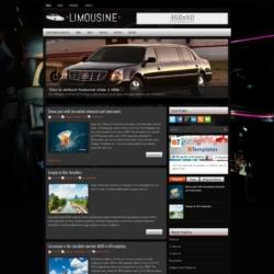 Limousine Blogger Template