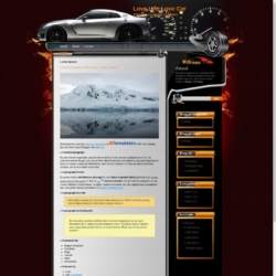 Love Life Love Car Blogger Template