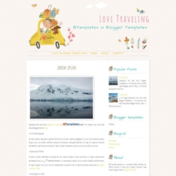 Love Traveling Blogger Template