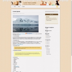 Love Your Lovely Blogger Template