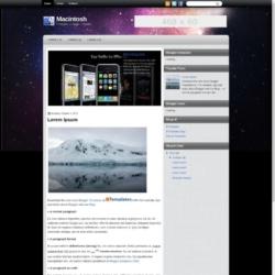 Macintosh Blogger Template