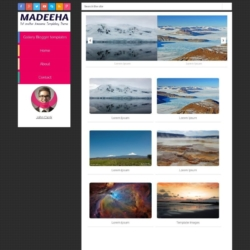 Madeeha Blogger Template