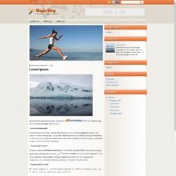 MagicBlog Blogger Template