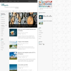 Mapalia Blogger Template