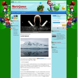 MarioGames Blogger Template