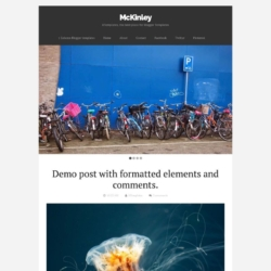 McKinley Blogger Template