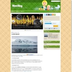MomBlog Blogger Template