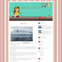 Mommy's Kitchen Blogger Template