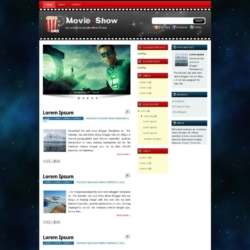 Movie Show Blogger Template